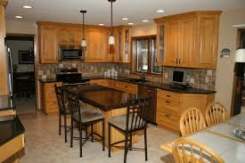 Maple Kitchen Furniture Maple Kitchen Cabinets Backsplash Contemporary Maple Kitchen