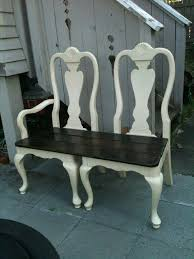 wonderful dining chair bench best 25 old chairs ideas on towel racks for bathroom