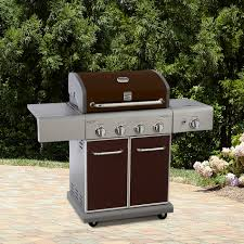 kenmore 4 burner gas grill. kenmore 4 burner lp mocha gas grill w/ searing side *limited availability* | shop your way: online shopping \u0026 earn points on tools, appliances,