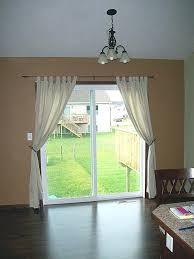 door cover ideas simple design of living room with sliding glass door measure curtain cream canvas fabric curtain door window treatment ideas
