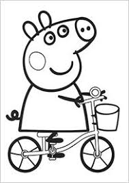 peppa pig colouring pages not that this really counts as craft but they were