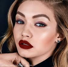 new gigi hadid for maybelline new york makeithappen model makeup gigihadid