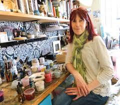 Vintage Fabrics & Embellishments With Louise O'Hara - Cosy Blog