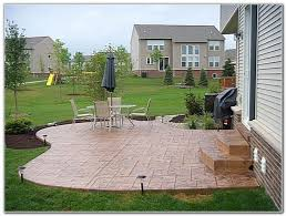 Stamped Concrete Patio Designs Color Patios Home Furniture