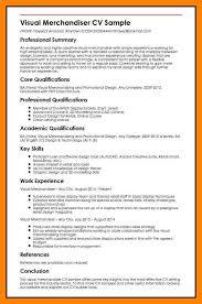 Visual Merchandising Resume Sample Visual Merchandiser Resume