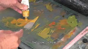 oil color mixing tutorial green highlights in landscape paintings you
