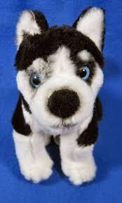 disney shasta snow buds siberian husky puppy dog 7 plush stuffed disney