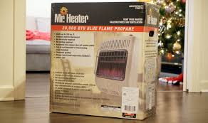vent free propane heater for