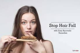 hair fall with easy ayurvedic remes