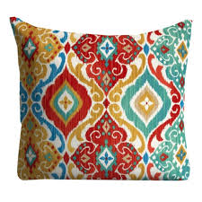 Outdoor Pillows Blue Interesting Patio Pillow Home Design Ideas
