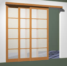 3 sliding doors tracks fits openings less than 102in x 96in