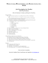 Resume For Architecture Job Stunning Architectural Drafter Resume Template Sample Objective 47