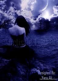 i am alone but i love sadness hd wallpaper