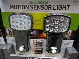 Motion Sensor Ceiling Light Costco Capstone Led Motion Sensor Light