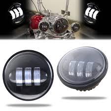 4 1 2 Inch Led Driving Lights Sunpie 7 Inch Black Motorcycle Led Headlight 2pcs 4 1 2