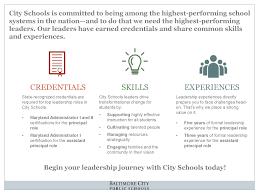 careers school leadership opportunities click here