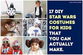 17 cool diy star wars costumes for kids that you can make from han and