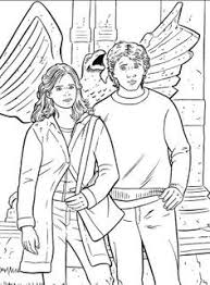 Unique Harry Ron And Hermione Coloring Pages C Trademe