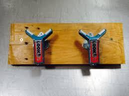 Repurposed Coathooks Made From Upcycled Repurposed Ski Bindings Repurpose