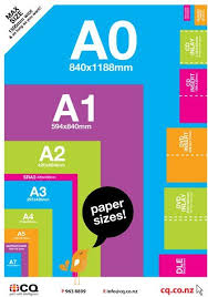 Paper Size Chart Paper Sizes Chart Paper Size Paper