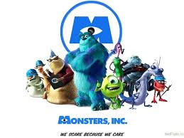 monster inc characters. Modren Inc On Monster Inc Characters R