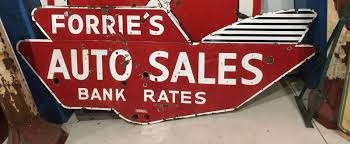 auto for sale sign auto for sale signs and garage signs primarily petroliana shop talk
