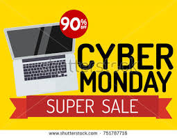 sale page template cyber monday banner sale page template stock vector hd royalty free