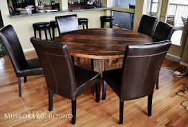 cottage tables ontario cottage life reclaimed wood round table solid wood round tables