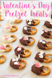 these easy diy valentine s day pretzel treats are perfect for making with kids