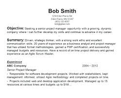 Objective In Resume For Software Engineer Experienced Objective In Resume For Software Engineer Beautiful Career