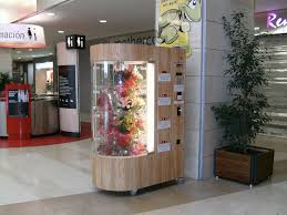 Flower Vending Machine For Sale Mesmerizing Flower Vending Machine More Flower Shop Inspiration Pinterest