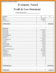 Statement Of Profit And Loss 12 13 Sample Of A Profit And Loss Statement Loginnelkriver Com