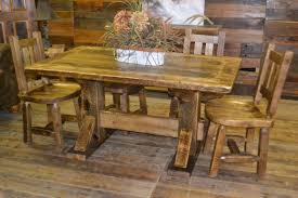 Furniture Made From Reclaimed Barn Wood