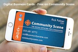 Digital Business Card How To Get A Free Digital Business Card Ricky Says