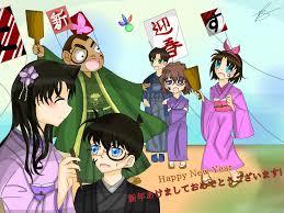 Happy New Year Fan Art | Detective Conan & Magic Kaito. Amino