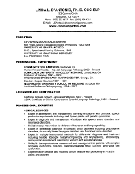 Slp Cfy Resume Sample Sample Speech Pathology Resume Proyectoportal Aceeducation 1