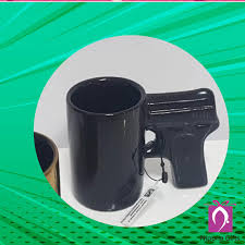 The gun handle coffee mug is an ideal gift for those who love guns or military personnel. Nipuna Gifts By Narayana Pearls Gun Handle Coffee Mug Is A Cool Gift For Your Friends And Yourself And Perfect For Gun Enthusiasts Perfect For The Coffee And Gun Lover Gunlover
