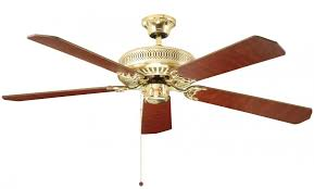 fantasia classic 52 ceiling fan without light polished brass