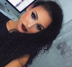 dramatic black smokey eye makeup tutorial brown matte lips lets learn makeup