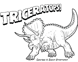 Simple Dinosaur Coloring Pages Free Dinosaur Coloring Pages