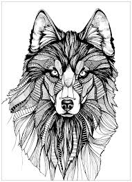 Shocking Wolf Coloring Pages Free Printable New Fresh Mandala