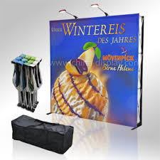 Fabric Pop Up Display Stands Fabric Popup Stand Dianyi Display exhibition equipmentpopup 2