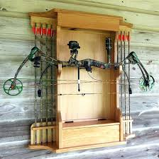 bow hanger for wall bow cabinet or archery cabinet archery bow wall hanger