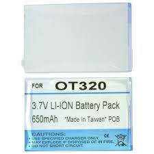 Alcatel OT 320 / Li-Ion 780 mAh ...