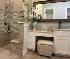 bathroom vanity chair with back. Master Bath With White Cabinets And Vanity Seat Intended For Bathroom Chair Back