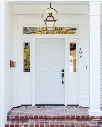 pretty white front door. Image Pretty White Front Door