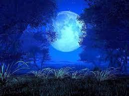 Dark Blue Moon Wallpapers - Top Free ...