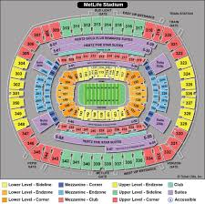 Metlife Stadium Concert Seating Chart View Disclosed