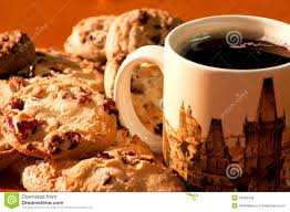 Cookie Coffee Cups Cookies With A Cup Of Coffee Royalty Free Stock Photos Image