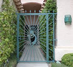 decorative garden gates. Wrought Iron Courtyard Gates | Decorative Works . Garden N